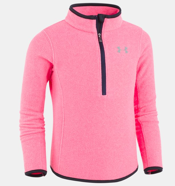 Girls Pre-School UA Heathered 1/4 Zip