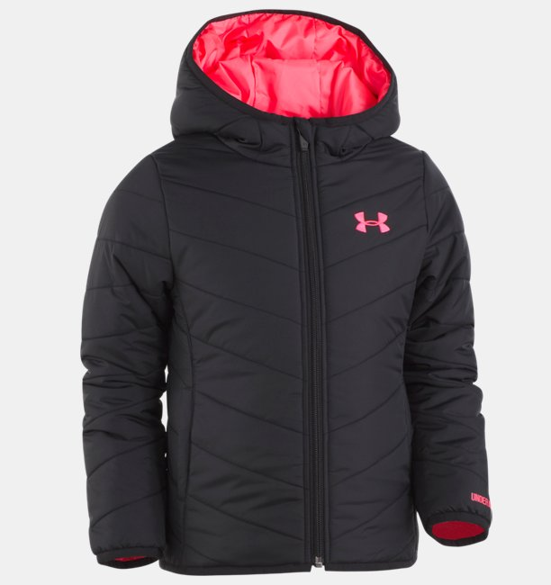 Girls Pre-School UA Premier Puffer Jacket