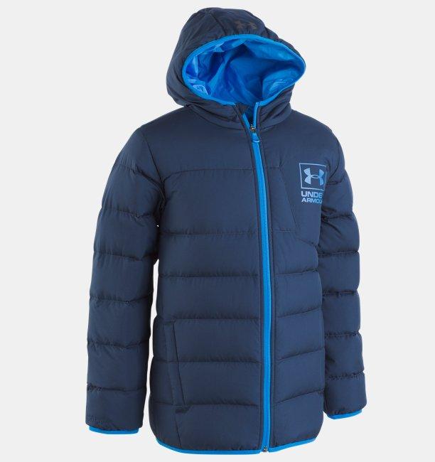 Boys Pre-School UA Swarmdown Hooded Jacket