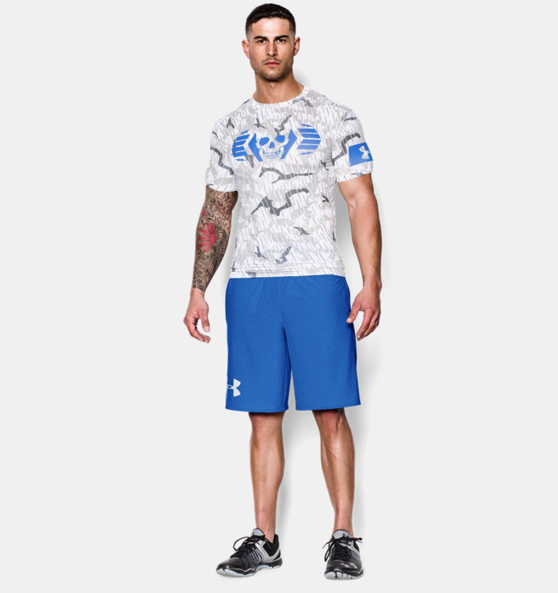 ... Men s UA Combine® Training Skull Bolt Compression T-Shirt ... 941ac039e