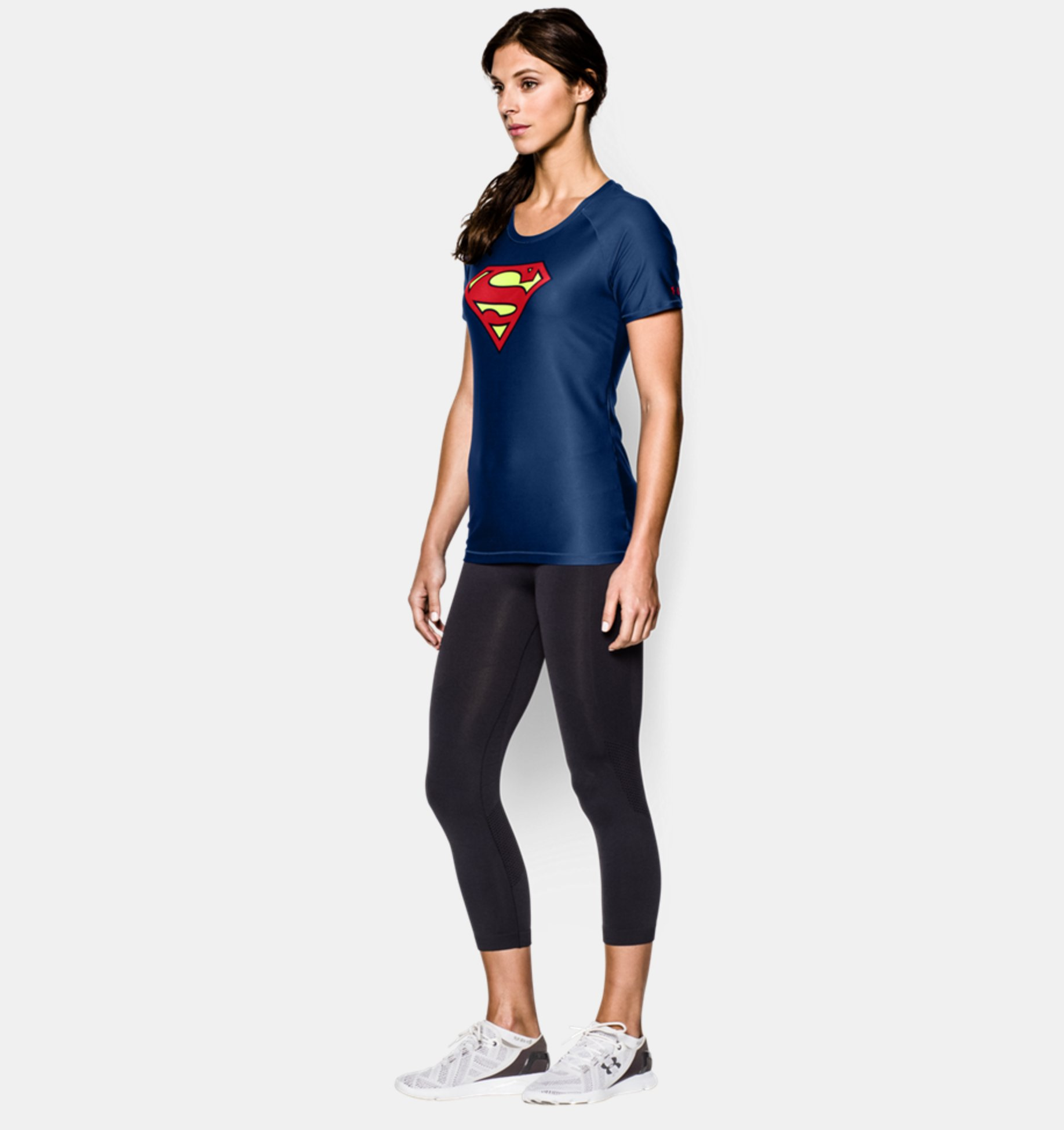 755504c3 ... Women's Under Armour® Alter Ego HeatGear® Sonic Supergirl T-Shirt