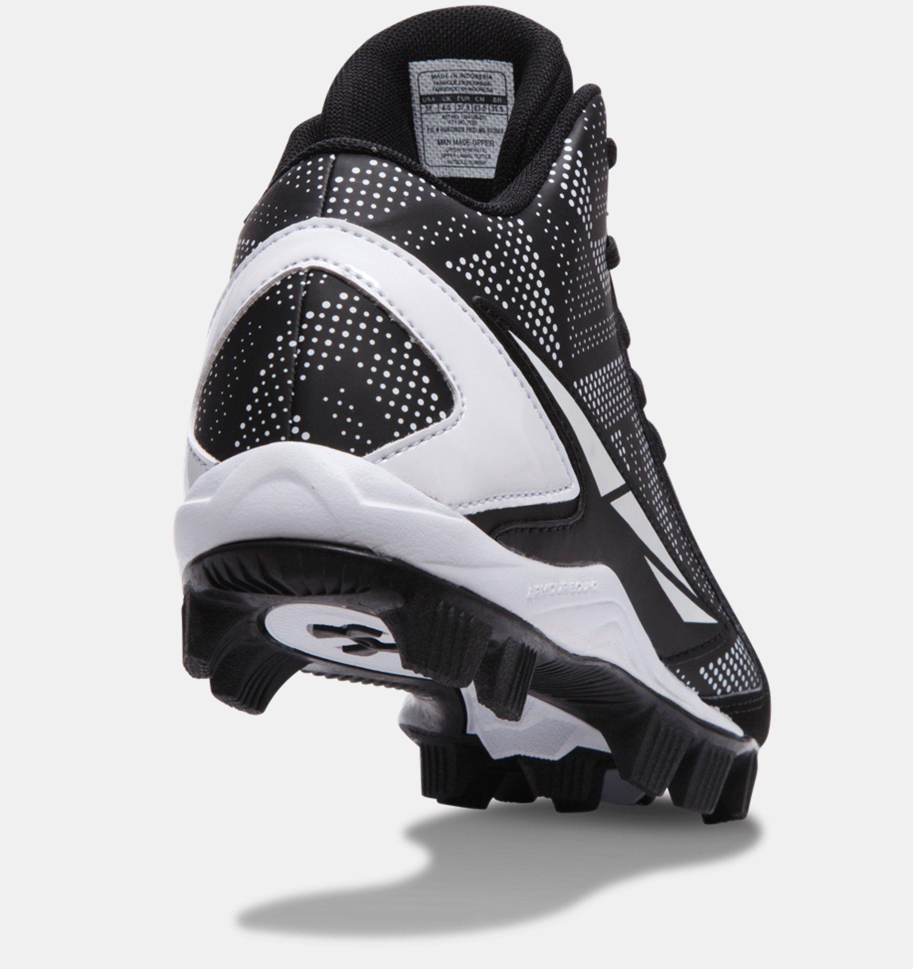 ... Zapato para béisbol mediano Jr. UA Leadoff para niño 6099549d5556