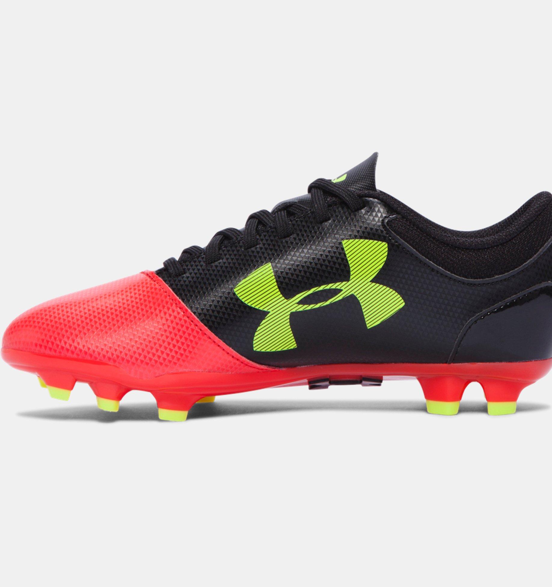 dd4c8a2efb278 ... Zapatos de Futbol UA Spotlight DL FG JR para Niños ...