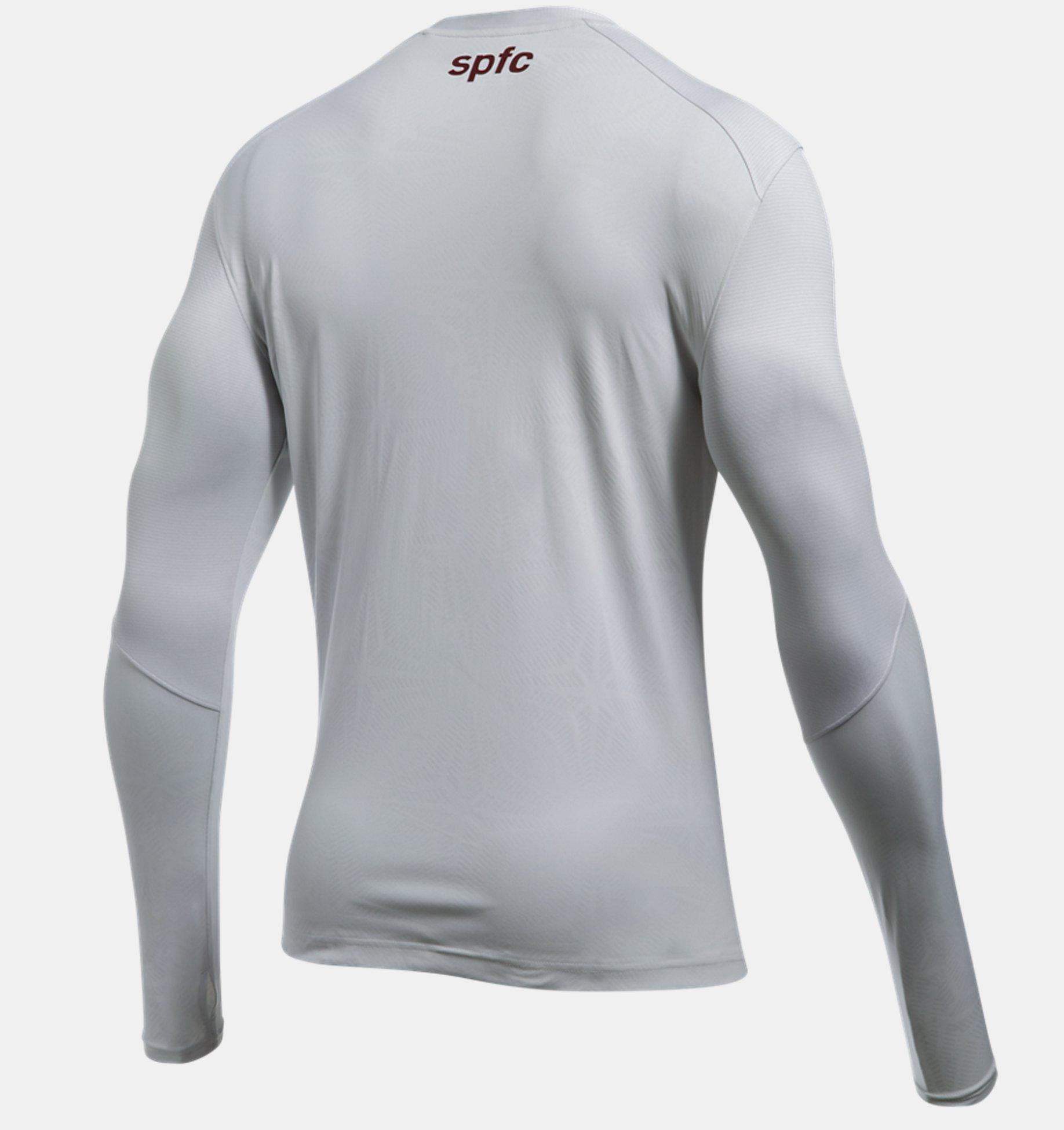 5d24d57ed5e7 Camisa Manga Longa Treino São Paulo - Masculina | Under Armour BR