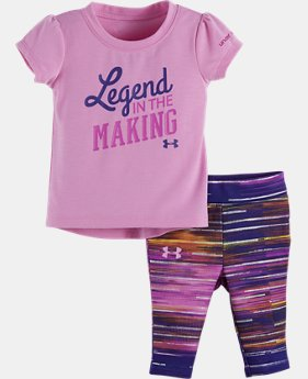 Girls' Infant UA Legend In The Making Bodysuit Set