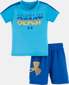Boys' Infant UA Release The Beast Set   $24.99