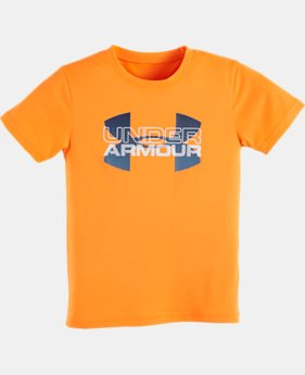 Boys' Toddler UA Big Logo T-Shirt LIMITED TIME: FREE SHIPPING 1 Color $17.99