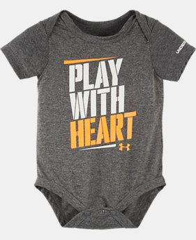 Best Seller Boys' Newborn UA Graphic Bodysuit  LIMITED TIME: FREE SHIPPING 2 Colors $14.99