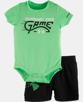 Boys' Newborn UA Rookie Pro Legend Bodysuit Set