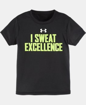Boys' Pre-School UA I Sweat Excellence T-Shirt LIMITED TIME: FREE SHIPPING 1 Color $17.99
