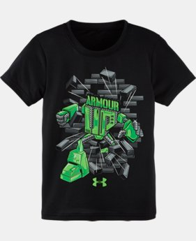 Boys' Toddler UA Armour Up T-Shirt LIMITED TIME: FREE SHIPPING 1 Color $17.99