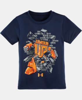 Boys' Toddler UA Armour Up T-Shirt LIMITED TIME: FREE SHIPPING 2 Colors $17.99